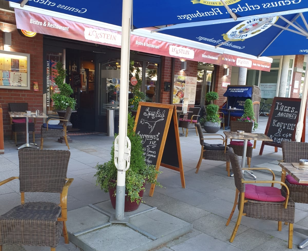 Eckstein Restaurant Eimsbüttel Burger Steaks Fisch Blick auf den Eingangsbereich